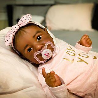 "22"" Truly Erma Reborn Baby Doll Girl"